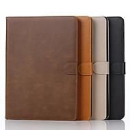 Mert Samsung Galaxy tok Kártyatartó / Pénztárca / Állvánnyal / Flip Case Teljes védelem Case Egyszínű Műbőr Samsung Tab A 9.7
