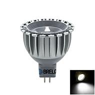 BRELONG MR16 5 W 1 COB 450 LM 5500-6000    3000-3500 K Warm White/Natural White Spot Lights AC 12 V