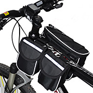 Acacia® bisiklet Çanta <10LBisiklet Çerçeve Çantaları Yağmur-Geçirmez / Çok Fonksiyonlu Bisiklet Çanta 600D Ripstop Bisiklet Çantası