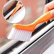 escova de limpeza janela pista com pá pequena casa projetada (cor aleatória)