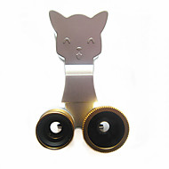 3-in-1 mobile phone universal fisheye wide angle macro clip the phone plug-in  for Cell phone camera