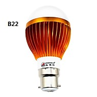 Zhishunjia B22 12 W 24 SMD 5630 1000 lm LM Blue/Cool White Globe Bulbs AC 85-265 V