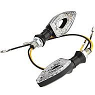 15 leidde richtingaanwijzer lichten lamp voor motorfiets motor amber (2 stuks)