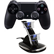 [dom pacakge] Dual Shock wireless controlador do jogo do bluetooth com estação de carga para ps4