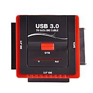 """2.5 """"3.5"""" IDE HDD cd-rom combinação conversor sata docking station usb 3.0 para pc"""