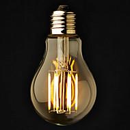 3個 ONDENN E26/E27 6 COB 600 LM 温白色 A60(A19) edison ビンテージ LEDボール型電球 交流220から240 / AC 110-130 V