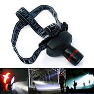 Scheinwerfer (einstellbarer Fokus) - LED 3 Modus 1501 Lumens or More Lumen AAA Andere Batterie -Camping / Wandern / Erkundungen / Jagd