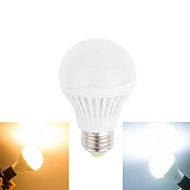 1 pcs Ding Yao E27 12W 18 SMD 5730 720LM Warm White/Cool White Globe Bulbs AC 85-265V