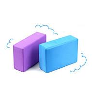 Yoga-block 22.9*15.2*7.6 Miljövänlig / Ogiftig / Luktfri 3.5 mm Rosa / Blå / Lila