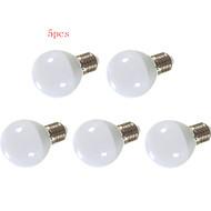 5pcs HRY® 5W/7W/9W E27 24XSMD5630 850LM LED Globe Bulbs(220V)