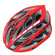 Berg/Weg - Fietsen/Bergracen/Wegwielrennen/Recreatiewielrennen - Helm ( Wit/Rood/Zwart , EPS+EPU ) - voor Unisex 24 LuchtopeningenOne