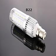 B22 8 W 42 SMD 5730 800 LM Kold hvid A Kolbepære AC 85-265 V