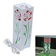 E27 7W 560lm jiawen® 3000-3200k / 6000-6500k ciepły biały / biały doprowadziły lampa stołowa (ac 110-220v)