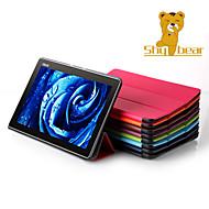 caso del soporte tímido oso ™ cubierta de cuero para el asus zenpad tableta de 10 Z300 z300c z300cg