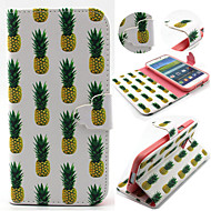 Pineapple Pattern with Card Bag Full Body Case for Samsung Galaxy S3/S4 Mini/ S5