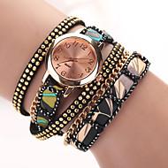 2015 vestito nuovo orologio bracciale in pelle stile stella estate guarda le donne guardare marchio top di lusso del quarzo oro