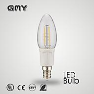 1 pcs GMY E12 3 W 8 COB ≥350 LM Warm White/Cool White B35 Filament candle bulb AC 110-130 V