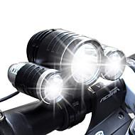 Altro 4.0 Modo Lumens Luci bici 18650 Impermeabili/Ricaricabile LED Cree XM-L T6/Cree R2Campeggio/Escursionismo/Speleologia/Uso