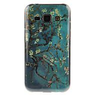 Mert Samsung Galaxy tok IMD Case Hátlap Case Fa TPU Samsung J7 / J5 / J1