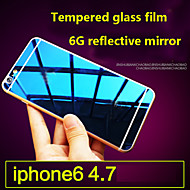 iphone6 고품질의 화면 보호기 막 강화 유리 필름 9h를 컬러 도금 방폭