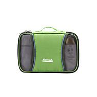 Toilette Bag/Wristlet Bag/Organizzatore di viaggio - Indossabile/Compatta/Multifunzione - da 4L L- Verde/Blu/Rosa scuroCampeggio e