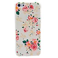 Coque rigide motif fleur pour iPhone 5C