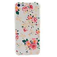 Mooie Flower Pattern Hard hoesje voor iPhone 5C