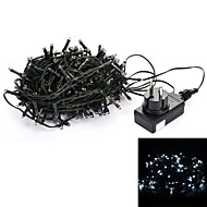 24V 30M 200-LED 8-Mode Wedding Christmas Party Decoration String Light - Deep Green (EU Plug