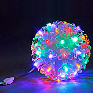 50 LED Ball Light Warm White / White / Multi Coloured Party / Home Decoration