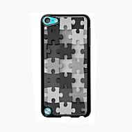 puzzle utforming aluminium høy kvalitets case for ipod touch 5