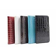 For Samsung Galaxy etui Kortholder Pung Med stativ Flip Etui Heldækkende Etui Geometrisk mønster Kunstlæder for Samsung J5