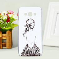 Na Samsung Galaxy Etui Wzór Kılıf Etui na tył Kılıf Seksowna dziewczyna PC Samsung A8 / A7 / A5 / A3