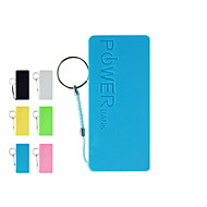 Universal Power Bank External Battery for iphone 6/6 plus/5/5S/Samsung S4/S5/Note2(Assorted Colors, 5200 mAh)