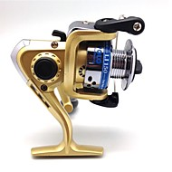 Mulinete de Pescuit Spinning Reels 5.1:1 3 Kugličnim ležajevima zamjenjiviMamac Casting / Ice ribolov / Vrtložno / Slatkovodno ribarstvo