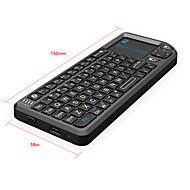RII K02 + mini langaton Bluetooth-näppäimistö + touchpad + laserosoitin