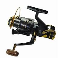 Fiskehjul Karper Fiskehjul 5.2:1 10 Kuglelejer ombytteligHavfiskeri Spinning Ferskvandsfiskere Karper Fiskeri Generel Fiskeri Trolling- &