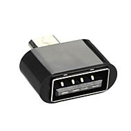 cwxuan ™ Micro-USB-Stecker auf USB 2.0 weiblichen OTG-Adapter für Android-Handy / Tablette
