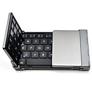 alt Hai ™ faltbare Bluetooth-Tastatur Ultra-Slim Tasche drahtlose Tastatur für iOS Android Windows-PC Tablet-Smartphone