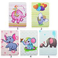PU Leather Rotating Multiple Totem Elephant for iPad mini(Assorted Colors)