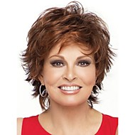 Natural Light Brown Straight Short Wig For Woman Fashion Wigs