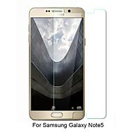 asling® 0.26mm afrundet kant transparent 9h hærdet glas membran skærmbeskytter til Samsung Galaxy note5 (5,7 tommer)