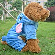 Perros Abrigos / Ropa / Ropa Azul Invierno Animal / Caricaturas Cosplay