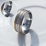 Personlig Smycken Rostfritt stål - i guld / silver - Ringar