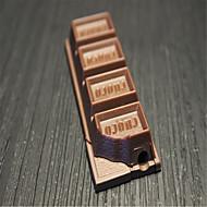 Creative briquets de chocolat de bonbons nouveauté