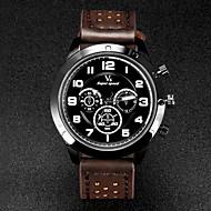 V6 Muškarci Ručni satovi s mehanizmom za navijanje Kvarc Japanski kvarc Koža Grupa Crna Smeđa Kaki Obala Crn Braon Žutomrk Crno/plavi