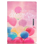 Dream Balloon Pattern PU Leather Full Body Case With Stand for iPad Air