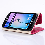 PU Wallet Fashion Holder Mobile phone Case for Samsung Galaxy S6 edge/S6/S5/S4/S3 Assorted Color