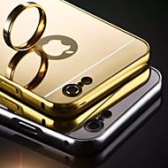 Pour Coque iPhone 7 Coques iPhone 7 Plus Coque iPhone 6 Coques iPhone 6 Plus Coque iPhone 5 Plaqué Miroir Coque Coque Arrière Coque