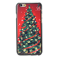 Christmas Style Luxury Tree Pattern PC Hard Back Cover for iPhone 6