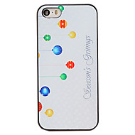 Christmas Style Decoration Pattern PC Hard Back Cover for iPhone 5/5S